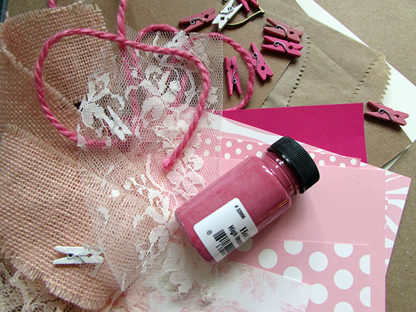 pink materials