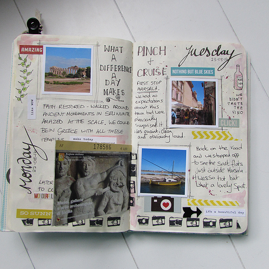 Travel journal | Jaine Drake - Basement Studio Happy Planner