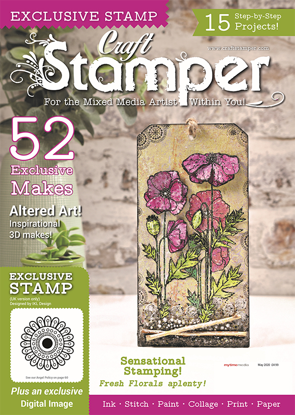 I am proud to be the Assistant Editor of Craft Stamper Magazine