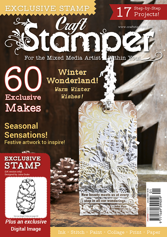 I'm the Assistant Editor for Craft Stamper Magazine